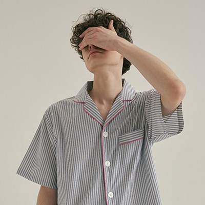(m) Blue Mountains Short Pajama Set