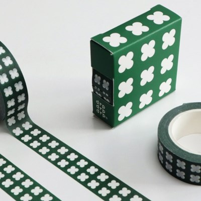마스킹테이프 CLOVER IN OHIO PATTERN MASKING TAPE_(1169018)