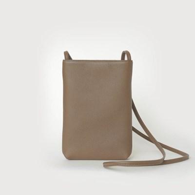 Plain Pocket Bag / Mud beige