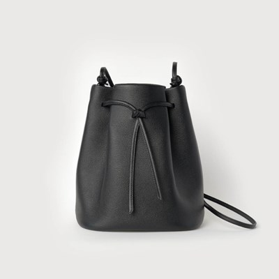Knot Bucket Bag / Black
