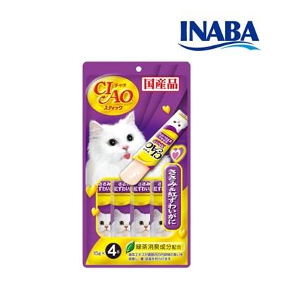 이나바 챠오스틱 닭가슴살 + 게살[4SC-85]