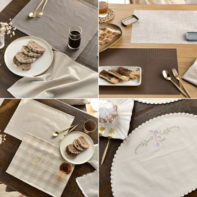 카페 감성 테이블매트/식탁매트 10종_(2490101)