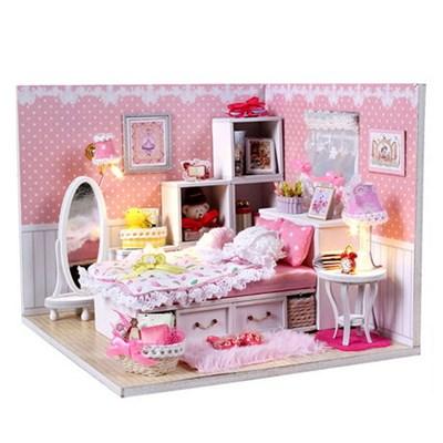 DIY 미니어처 하우스 (입문자용) -M001_핑크 레이스