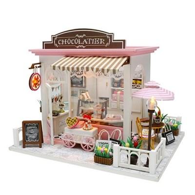 DIY 미니어처 하우스 (난의도 중.상) -C007_초콜릿디저