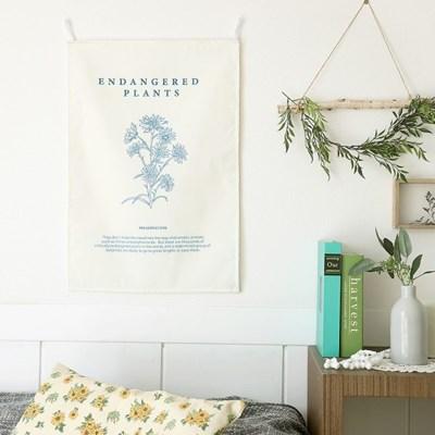 플랜트스 인테리어 패브릭 포스터 고리형