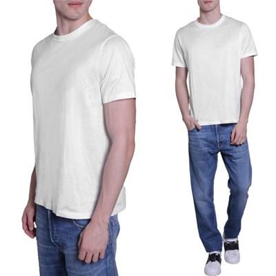 11주년 스터드 반팔 티셔츠 화이트 MV3MG00W 3MM 0BO
