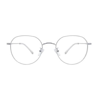 Leben SILVER 클래식 메탈 안경