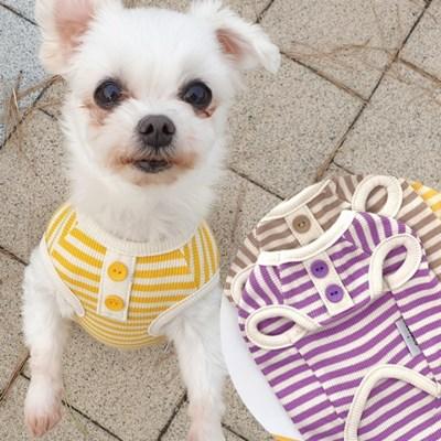 봉봉스트라이프 강아지티셔츠 애견옷 강아지옷 애견산책옷