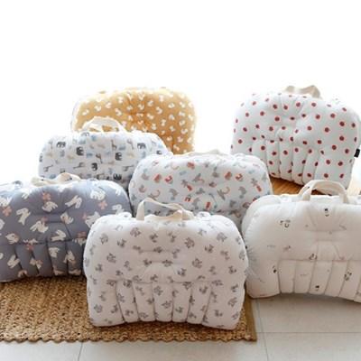 신생아 휴대용침대 극세사블랭킷세트 편안한 아기잠자리