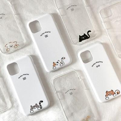 [마이 키링] 고양이 아이폰 갤럭시 폰 케이스 9종