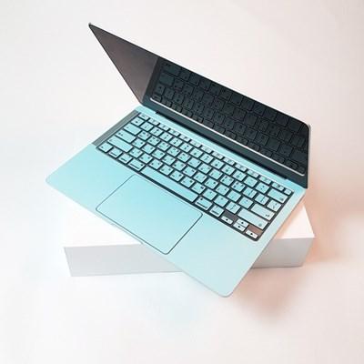 맥북 pro 13형 A1278 컬러 디자인 노트북 스킨 외부 보호 필름