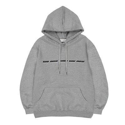 WE ARE WHO HOODIE_GRAY