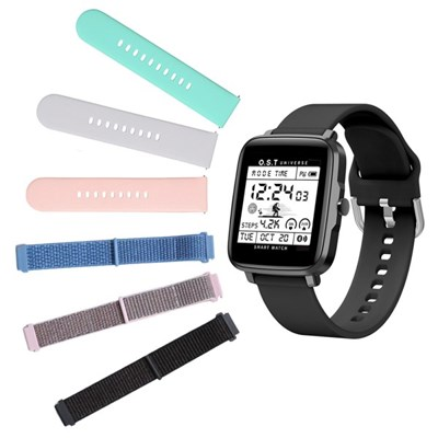 [Smart Watch] Silicon/ Fabric Band (12종택1)