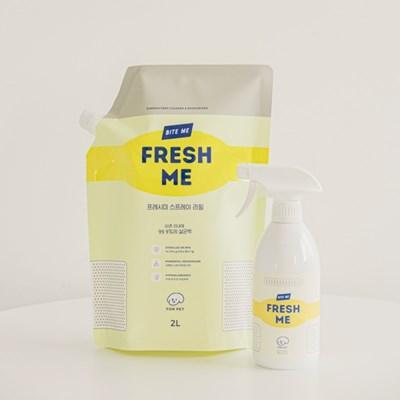 바잇미 살균 소취제 fresh me (프레시미) 대용량 리필 2L + 본품세트