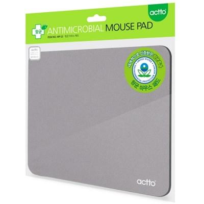 ACTTO(엑토) MP-23 항균마우스패드 (영구적냄새,세균방지/그레이)