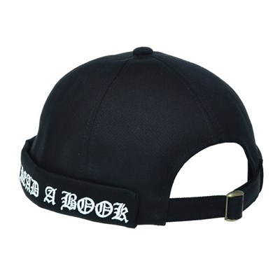 KHH01.자수밴드 와치캡 숏비니 봄 여름 남성 캐쥬얼 모자