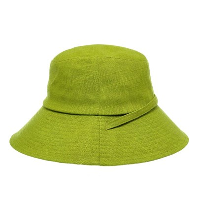 KTU01.마혼방 끈장식 여성 벙거지 모자 버킷햇 봄 여름 챙모자