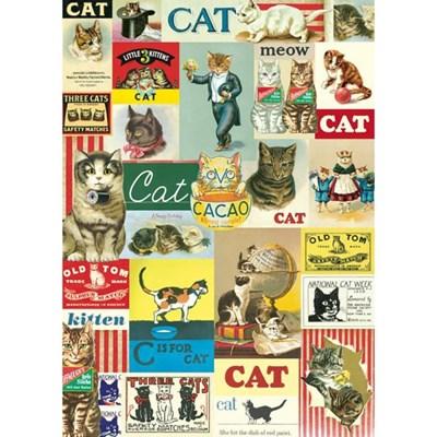카발리니 포스터-Vintage Cat