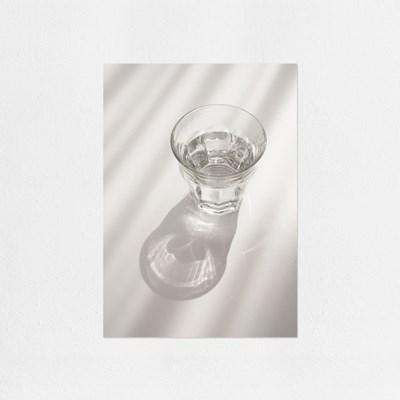 Glass cup (유리컵) / A4 미니포스터