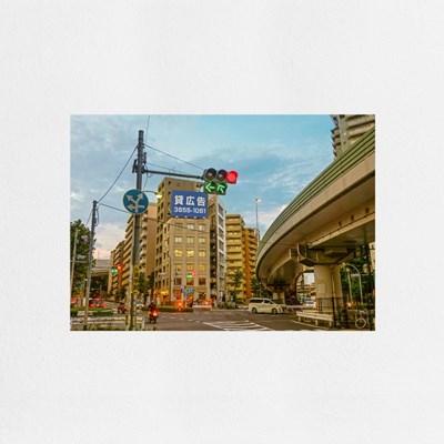 Evening in Tokyo (도쿄의저녁) / A4 감성 미니포스터
