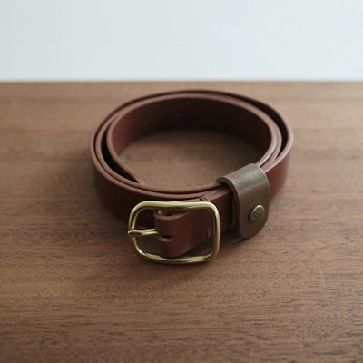 Square Basic Belt_Brown [YA101_BR]