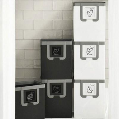 재활용수거함 나누미 3단 공간활용마법사 생활용품