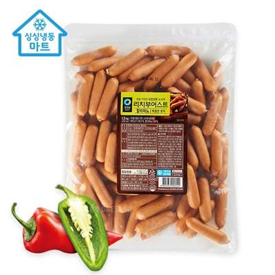 [싱싱냉동마트]청정원 리치부어스트 할라파뇨1.5kg_(12052139)