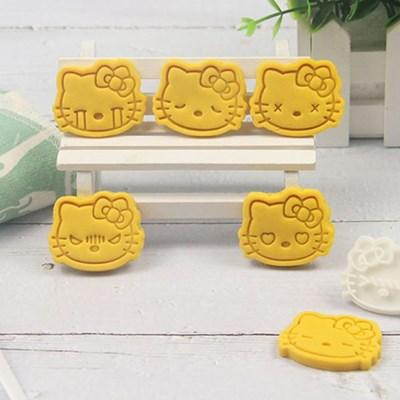 산리오 캐릭터 헬로키티 쿠키틀 쿠키커터 이모티콘 10종