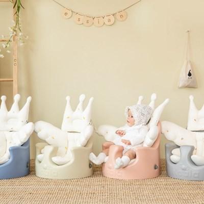 에시앙 아기의자 전용 모데즈 크라운 2종세트 (택1)
