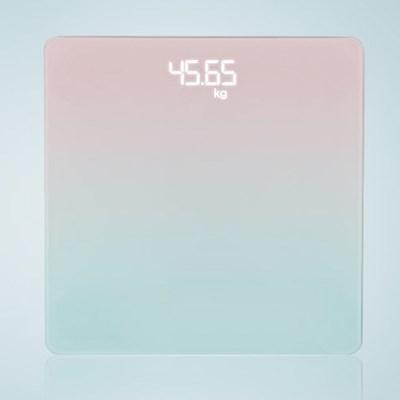 스마트 LED 디지털 전자 온도계 겸용 체중계