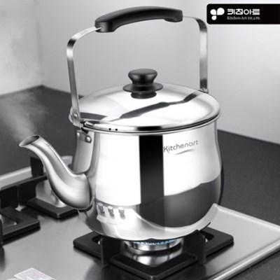 키친아트 스텐주전자 7L 약탕기 물끓이는 보리차 대용량_(671195)
