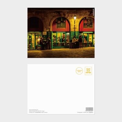 [카멜앤오아시스] Untitled 11 스페인 바르셀로나 카페테리아 엽서