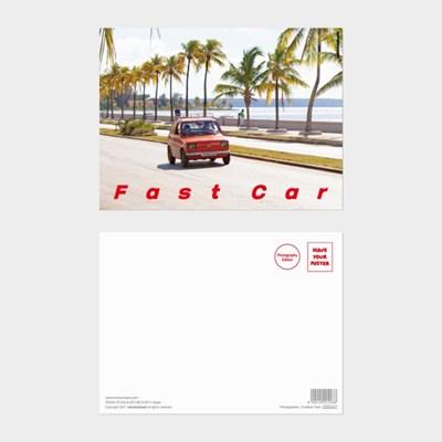 [카멜앤오아시스] Untitled 14 쿠바 빈티지카 해변 엽서
