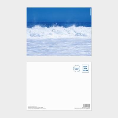 [카멜앤오아시스] Untitled 15 브라질 코파카바나 바다 파도 엽서
