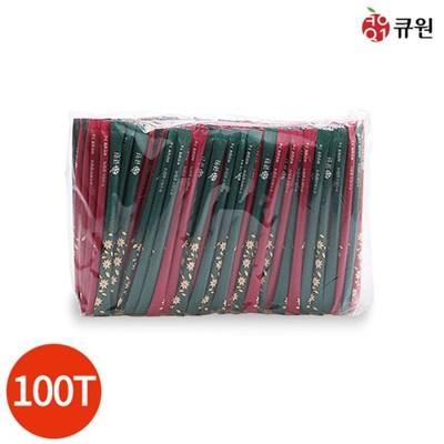 큐원 미니바 스틱설탕 1봉 (5g x 100개)
