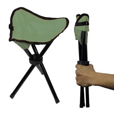 캠핑 삼각 접이식 패브릭 의자 아웃도어 차박 비박