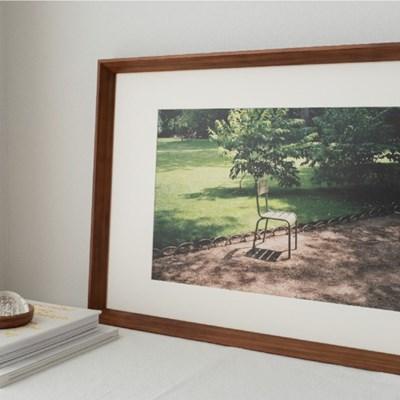 모먼츠인필름 A3 포스터 - 초록 의자