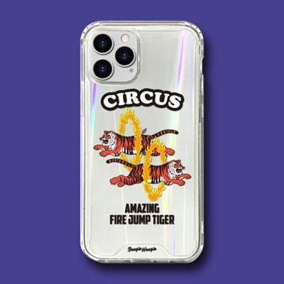 범퍼클리어 케이스 - 서커스(Circus)