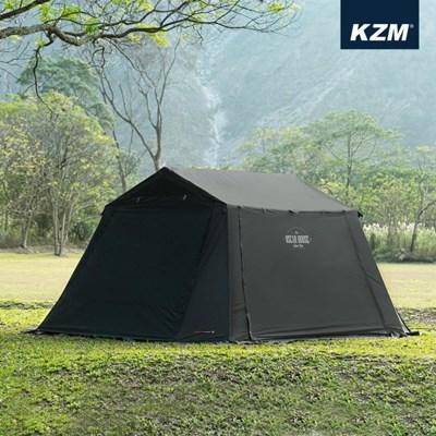 카즈미 오스카 하우스 캐빈 텐트 K20T3T007 3-4인용 캠핑텐트