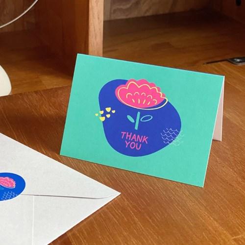 블룸블룸 감사 카드