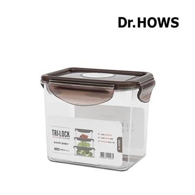 [닥터하우스] 트라이락 밀폐용기 직사각 850ml