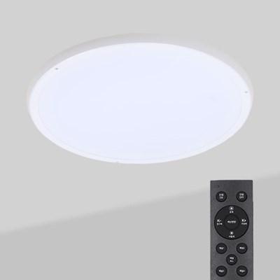 LED 리모컨 원형 방등 사일런 50w_(2055799)