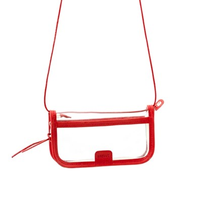 PVC POUCH - red