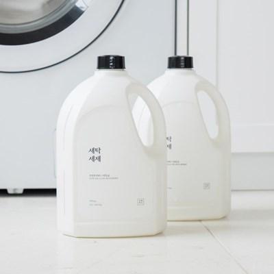 생활백서 1+1 세탁세제 2.5L