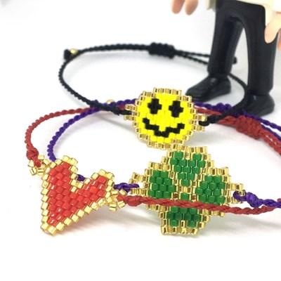 디애틱 NUDO 매듭팔찌 Twist Beads