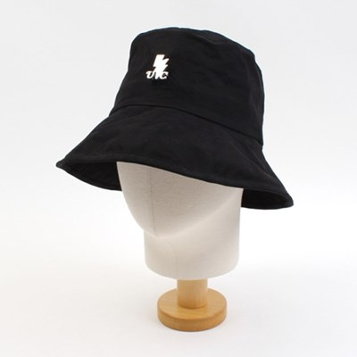Soft Cotton Black Over Bucket Hat SV 오버버킷햇
