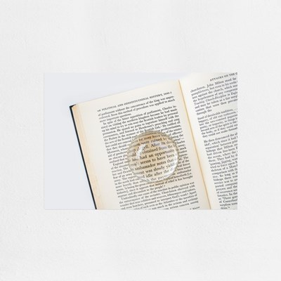 Book (책) / A4 감성 미니포스터