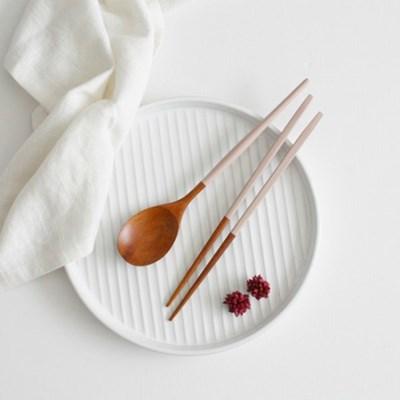 장미목 옻칠 수저세트 숟가락 젓가락