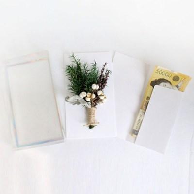 라벤더 용돈 봉투 박스 부모님 어버이날 현금 선물