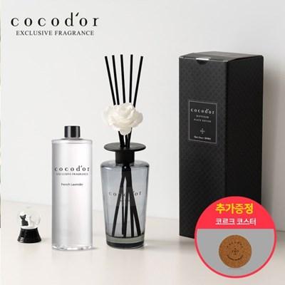 코코도르 블랙에디션 디퓨저 500ml + 리필액 500ml + 코크크코스터